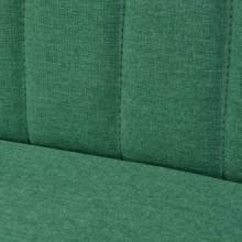 Sofá de tela verde 117x55,5x77cm Vida XL