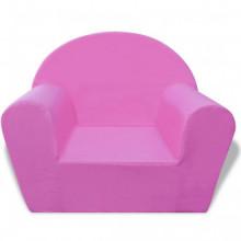 Sillón para niños rosa Vida XL