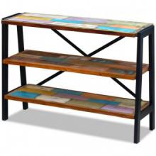 Aparador con 3 estantes de madera maciza...