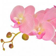 Planta artificial orquídea conacetero 75cm rosa...
