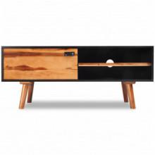 Mueble para TVaderaaciza de acacia 120x35x50cm...