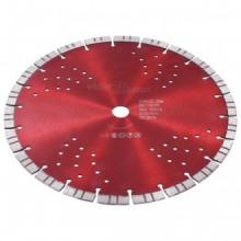 Disco de corte de diamante con turbo y agujeros...