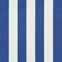 Toldo retráctil 400x150cm azul y blanco Vida XL