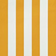Toldo retráctil 300x150cm amarillo y blanco...
