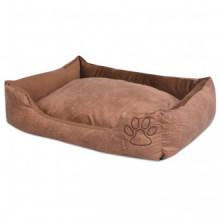 Cama para perro con cojín PU cuero artificial...