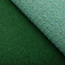 Césped artificial con tacos PP 5x1 m verde Vida XL