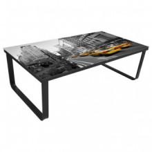 Mesa de centro superficie de vidrio foto New...