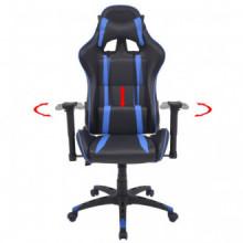 Silla de escritorio Racing reclinable de cuero...