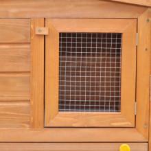 Casa de animales pequeños jaula conejera con...