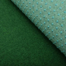 Césped artificial con tacos PP 10x1,33 m verde...