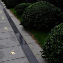 Lámparas de suelo de jardín cuadradas 12...