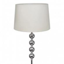 Lámpara de pie pantalla y soporte alto 4 bolas...