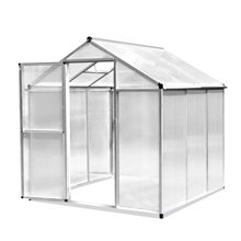 Invernadero transparente de policarbonato Outsunny