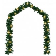 Guirnalda de navidad con luces LED 20 m Vida XL