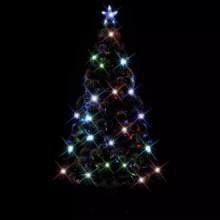 Árbol de Navidad artificial con soporte/LED...