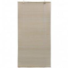 Persianas enrollables de bambú natural 80x160cm...