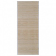 Alfombra de bambú natural rectangular, 150 x...