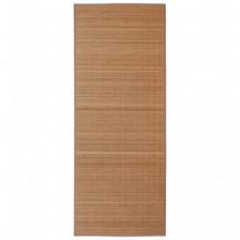 Alfombra rectangular de bambúmarrón 150x200cm...