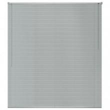 Persiana aluminio 160x160cm plateada Vida XL