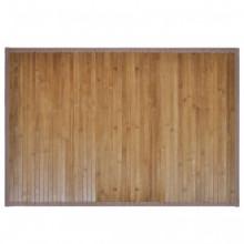 2 alfombrillas de baño de bambú 40 x 50cmmarrón...