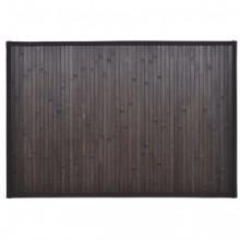 Alfombrilla de baño de bambú 60 x 90cmmarrón...