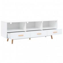 Mueble para la televisiónmDF 160x40x55cm blanco...