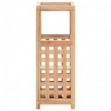 Paragüero de madera maciza de nogal 18x18x50cm...