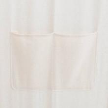 Biombo divisor 5 paneles de tela crema...