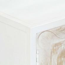Aparador de madera maciza de mango 120x30x70cm...