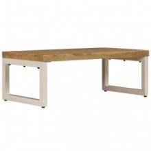 Mesa de centro 110x50x35cm de madera maciza de...