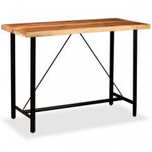 Mesa y 6 taburetes bar madera maciza sheesham...