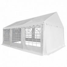 Carpa de jardín de PVC 3x6 m blanco Vida XL