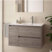 Mueble de baño 855 Izquierda Roble Eternity NOJA SALGAR
