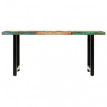 Mesa de comedor de madera maciza reciclada...