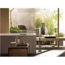 Grifo de bañera exento con manecilla plana Metropol Hansgrohe