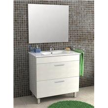 Mueble con lavabo 80cm Polo Futurbaño