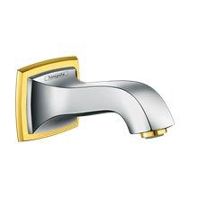 Caño para bañera 158mm cromo y oro Metropol Classic Hansgrohe