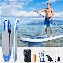 Tabla Paddle Surf hinchable con remo HomCom