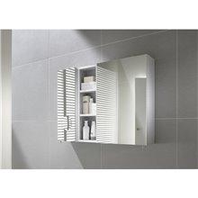 Armario-espejo 50cm blanco Luna Roca