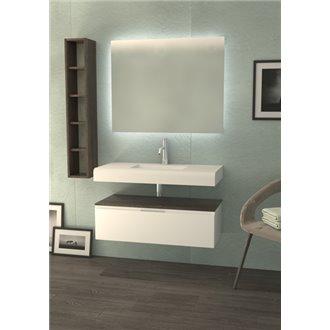 Mueble Life 1 cajón sin lavabo B10