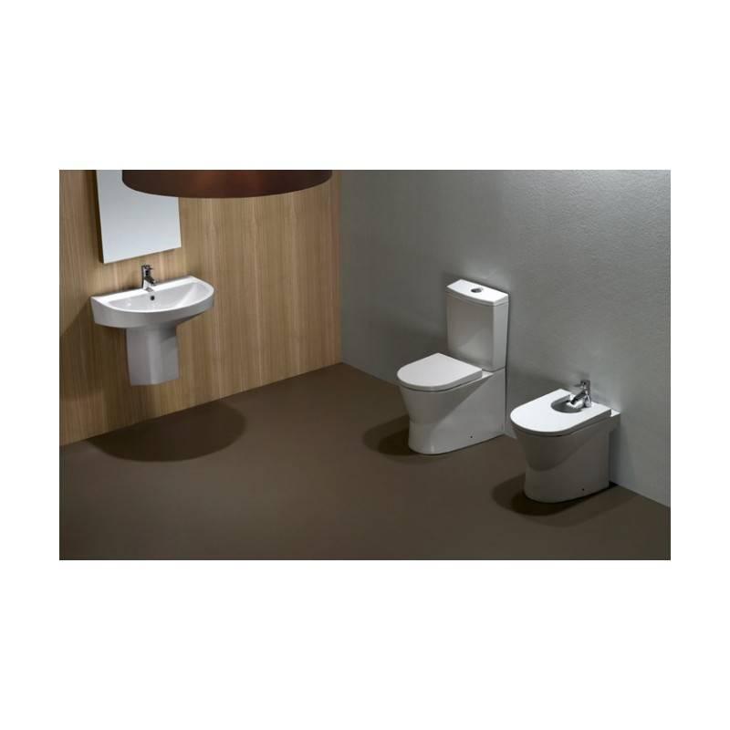 Lavabo urb y 60 con semi pedestal materiales de f brica for Lavabo con pedestal