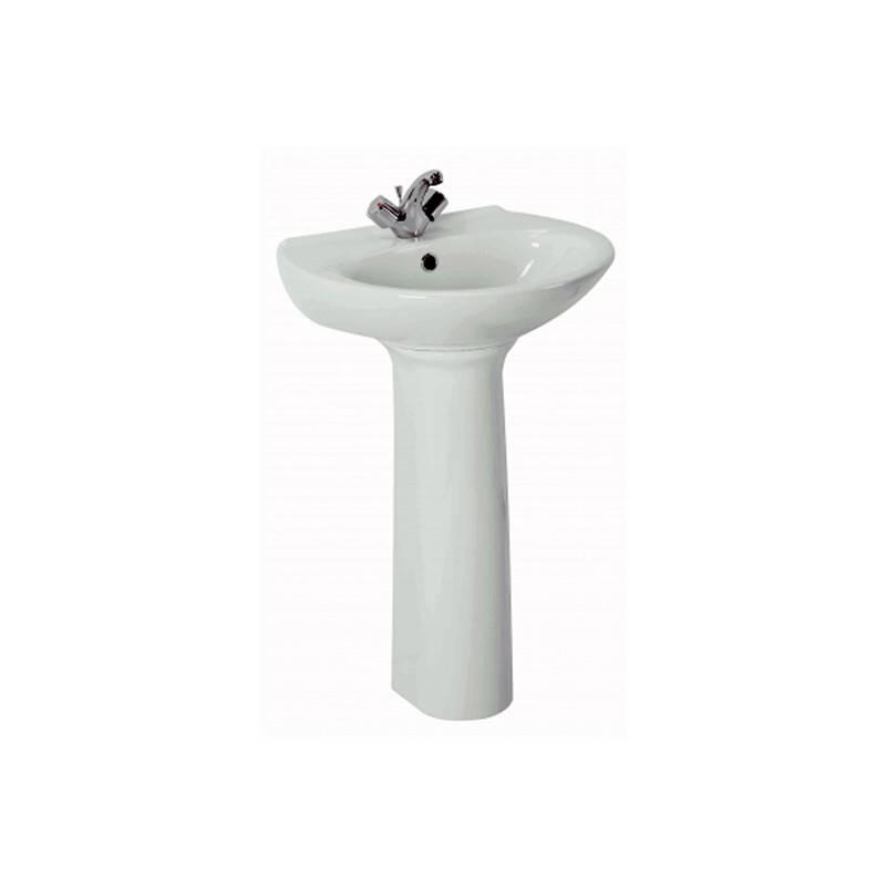 Lavabo con pedestal benissa 55 materiales de f brica for Lavabo con pedestal