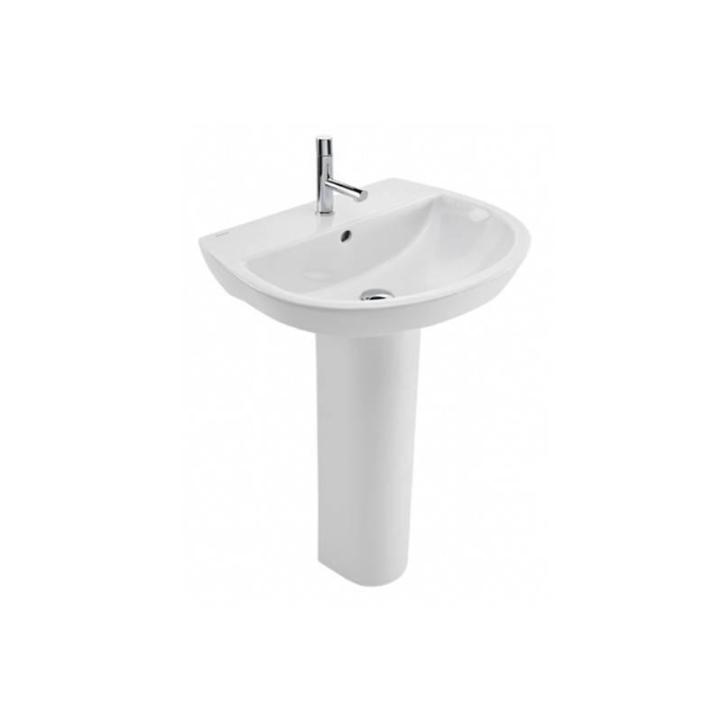 Lavabo con pedestal easy 55 materiales de f brica for Lavabo con pedestal