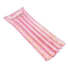 Colchoneta purpurina rosa Intex