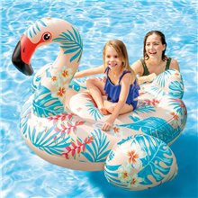 Flamenco tropical hinchable Intex