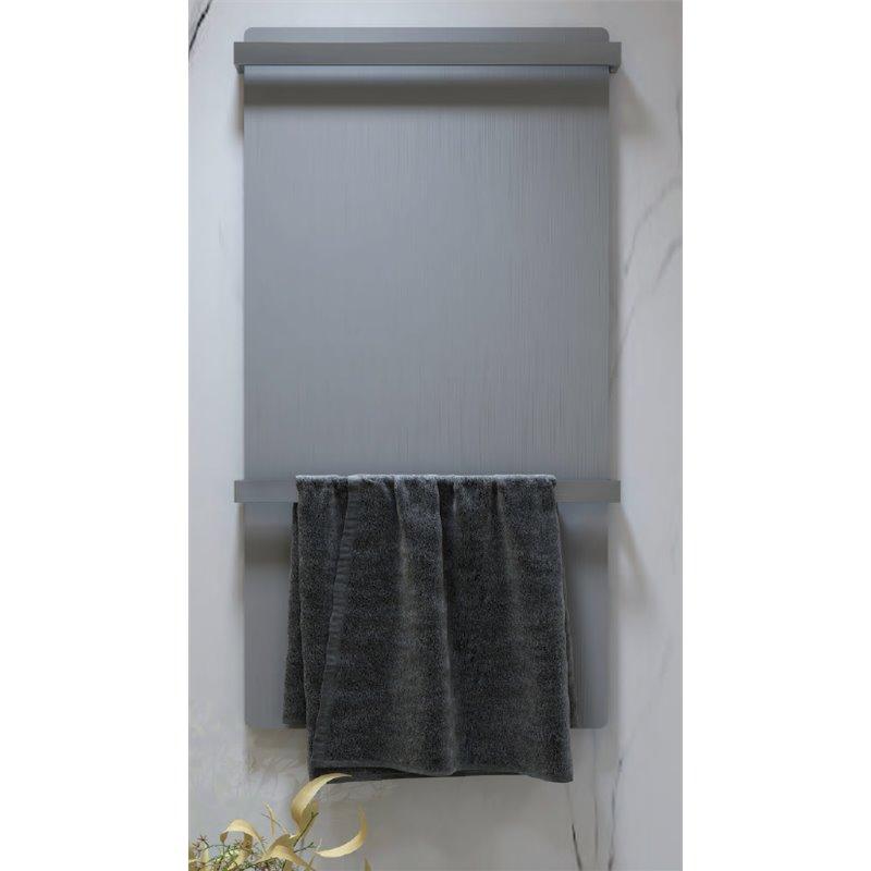 Radiador secatoallas gris ENZO Oxen
