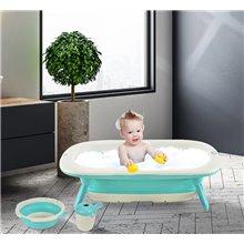 Bañera infantil plegable 84,5 x 50,5 Homcom