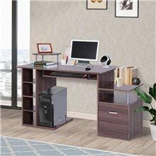 Escritorio para ordenador con mesa de impresora Homcom