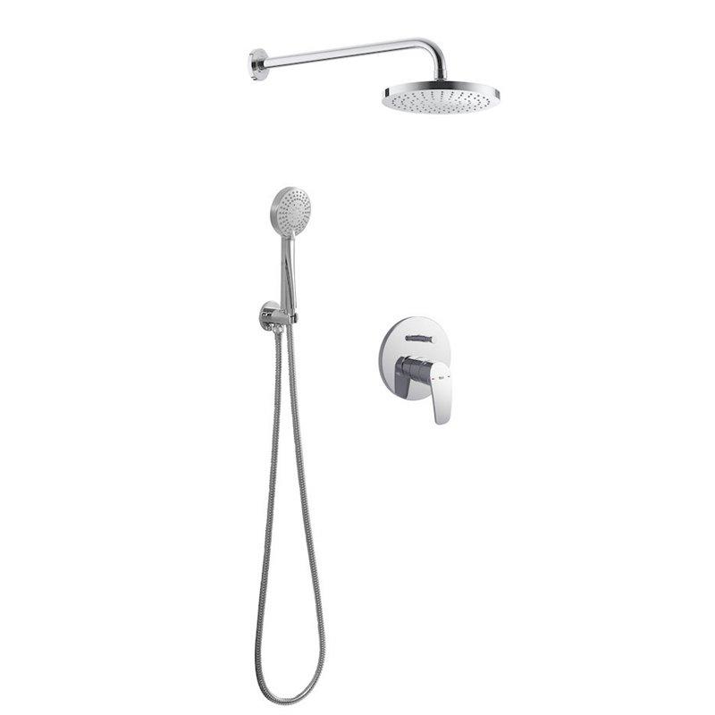 Conjunto de ducha Basic Monomando Roca