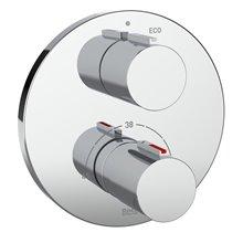 Grifo ducha termostático empotrable T-1000 Roca